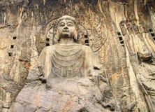 grottoes henan longmen провинция luoyang Стоковое Изображение