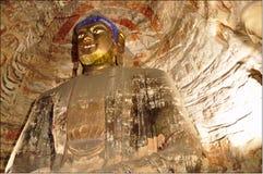 grottoes yungang Στοκ Φωτογραφία