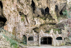 Grottor av Valganna, Varese, Italien Royaltyfria Foton