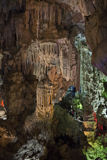 Grottor i karstberget Vietnam Royaltyfri Foto