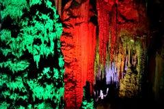 Grottorna av Arta i Mallorca Royaltyfri Fotografi