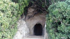 Grottorna av Beit Jovrin Fotografering för Bildbyråer