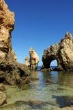 Grottos em Lagos Imagem de Stock