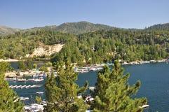grotu jeziora widok Obrazy Royalty Free