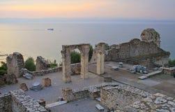 Groty Di Catullo ruiny, Sermione, Włochy Zdjęcie Stock