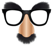Groucho mask royalty free illustration