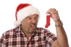 Is That All! Christmas Stocking. royalty free stock images