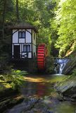 Groudle Glen Waterwheel Royalty Free Stock Image
