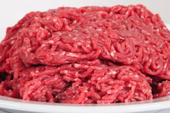 Ground beef. Stock Photo