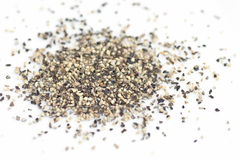 Ground black pepper Stock Photos