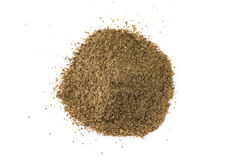 Ground black pepper Stock Images