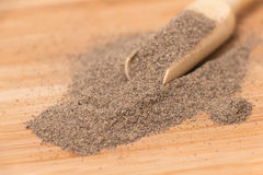 Ground black pepper royalty free stock image