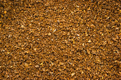 Ground Black Roasted Coffee Food Drink Crop Stock Photography