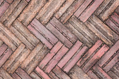 Ground bricks background Stock Image