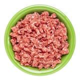 Ground buffalo meat Stock Photos