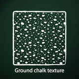Ground chalk texture Royalty Free Stock Images