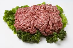Ground Chicken royalty free stock photography