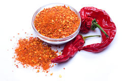 Ground chili pepper Royalty Free Stock Photography