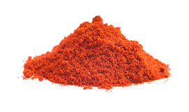 Ground chili pepper. Powdered pepperoni royalty free stock image