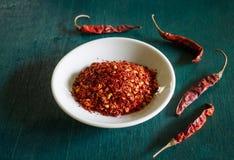 Ground chilli Stock Image