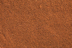 Ground Cinnamon background. Stock Image
