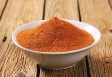 Ground cinnamon Stock Photo