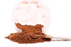 Ground Cinnamon Powder Spice Stock Image