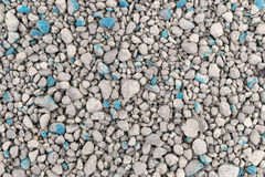 Ground clay cat litter close view. Very close view of a layer of ground clay cat litter Stock Photography