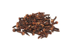 Whole cloves Royalty Free Stock Image