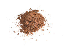 Ground cocoa Stock Images