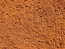 Ground coffee. Detail photo texture of ground coffee background royalty free stock image