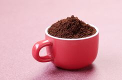 Ground coffee Royalty Free Stock Photo