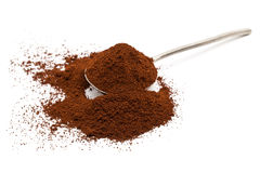 Ground coffee Stock Photography