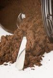 Ground coffee Stock Photos