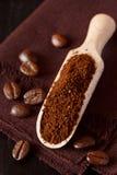 Ground coffee. Stock Image
