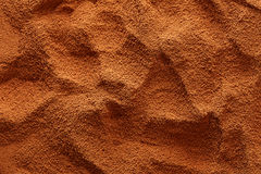 Ground coffee background Stock Image
