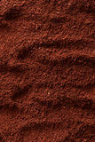 Ground coffee background Royalty Free Stock Image