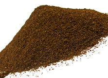 Ground Coffee Beans Stock Images