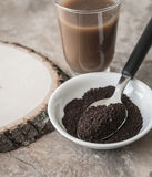 Ground Coffee Stock Photos