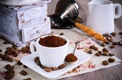 Ground coffee Royalty Free Stock Image