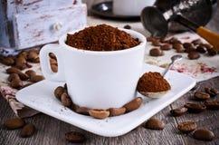 Ground coffee Royalty Free Stock Photos