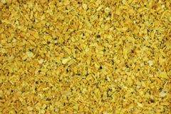 Ground coriander root spice background Stock Photo