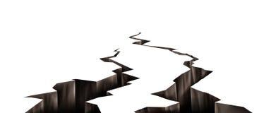 Free Ground Cracks, Earthquake Cracking Holes Set Stock Images - 213421684