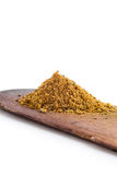 Ground cumin stack Royalty Free Stock Images