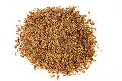 Ground flax meal Stock Images