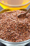 Ground Flax Seed Royalty Free Stock Image