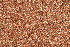 Ground flax seeds - background Stock Photography