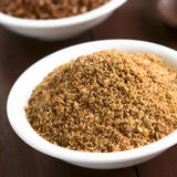 Ground Flax Seeds Stock Images