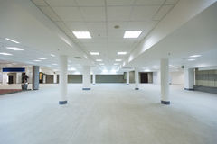Ground floor hall. Of office building Stock Photography