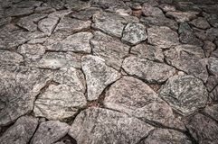 Ground floor with stone pattern Royalty Free Stock Photography